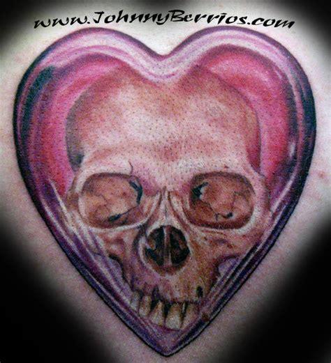 tattooed heart lafayette in hours johnny berrios heart skull