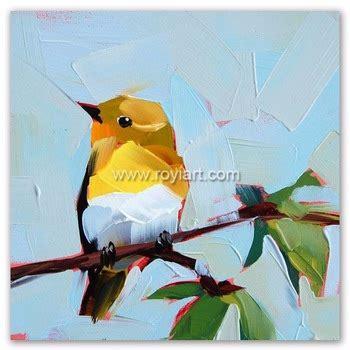 Dekorasi Rumah Kantor Lukisan Painting Pemandangan Asli L14 tangan dicat kanvas burung lukisan minyak modern hewan tema buy product on alibaba