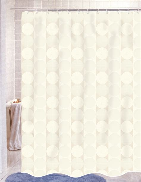 shower curtains for less jacquard shower curtain ivory linens4less com