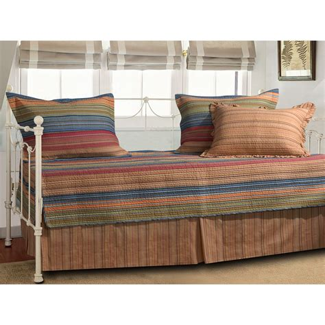 day bed sets greenland home fashions katy 5 piece daybed set