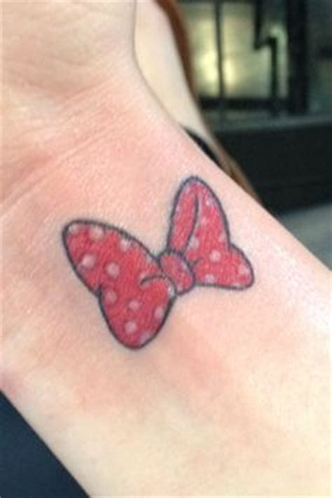 minnie mouse tattoo mine is on my hip inked