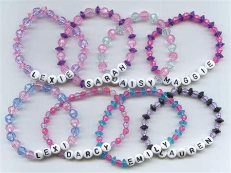 Handmade Name Bracelets - custom name bracelet any name and any colors
