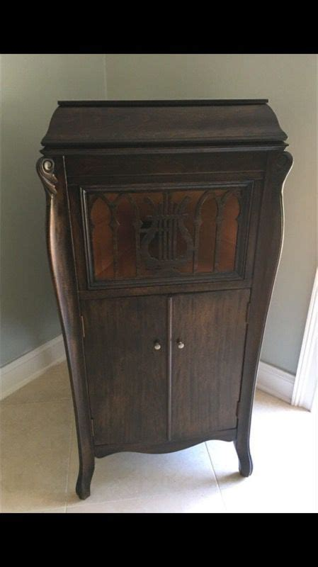vintage record player cabinet parts antique starr phonograph victrola record player bar liquor