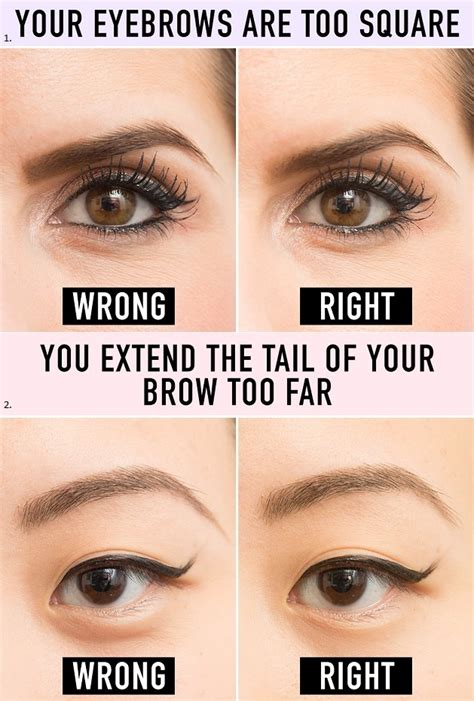 how to make eyebrows look arched with makeup mugeek