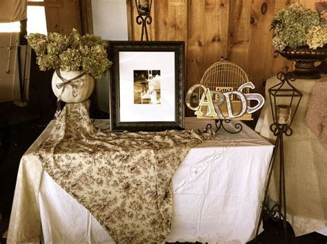 barn wedding decorations and ideas   This is one portion