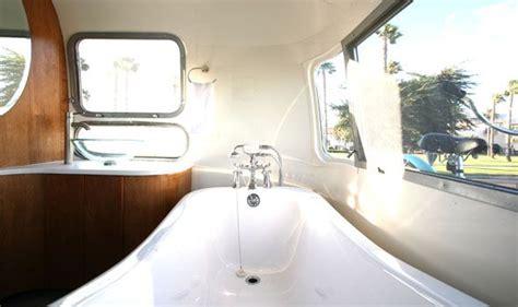 Baignoir Sur Pied 1973 by 1973 Airstream Sovereign 171 Hofmann Architecture Camion