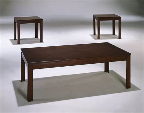 Pierce Coffee And End Table Set Occasional Tables Espresso Coffee Table And End Tables
