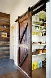 kitchen pantry door ideas using barn doors as a statement in interior design