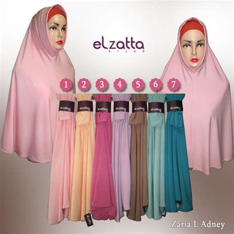 Bergo Elzatta Zaria Xl Asyila galeri azalia toko baju busana muslim modern dan
