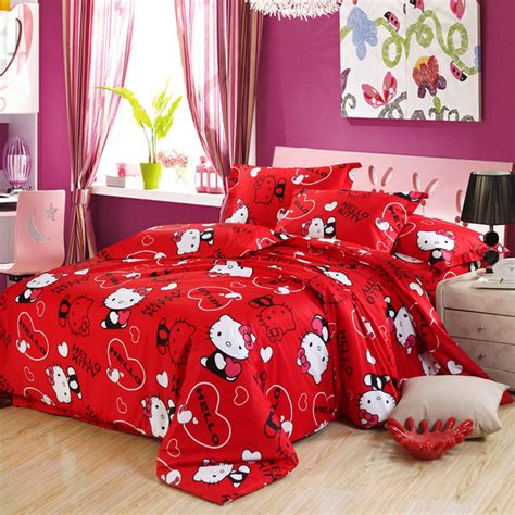 queen hello kitty comforter set popular hello kitty queen comforter set buy cheap hello