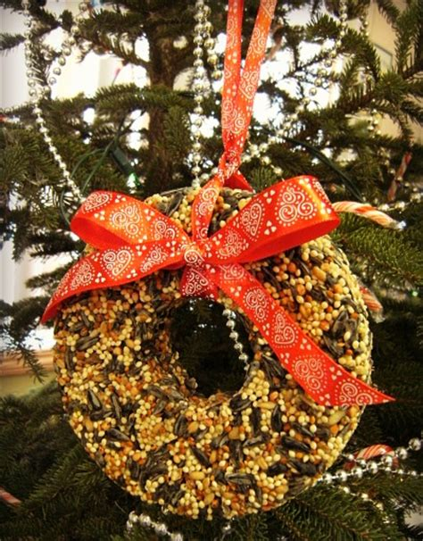 11 diy birdseed ornaments for christmas shelterness