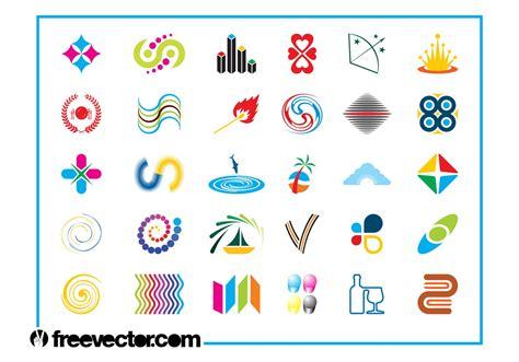 icon design basics colorful logo icons set download free vector art stock