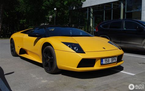 Lamborghini Murcielago Lamborghini Murci 233 Lago Roadster 5 June 2016 Autogespot