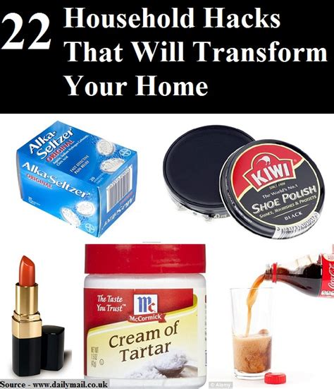 household hacks 22 household hacks that will transform your home home and life tips