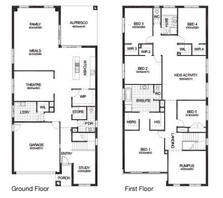 rectangle house plans 222 best rectangle house plans images on pinterest floor