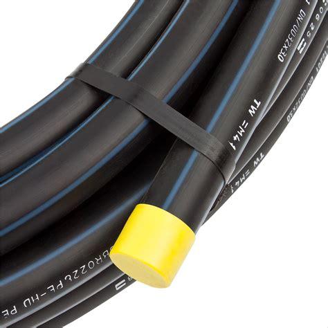 Wasserleitung Aus Kunststoff by Pe Hd Rohr Pe80 Pn12 5 100m 1 Zoll 32mm Trinkwasser