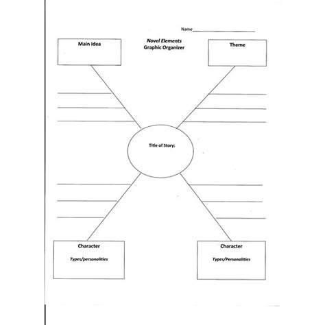 weight management graphic organizer 7 best images of college printables plot book report