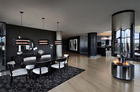 360 room view astonishing modern penthouse apartment with 360 degree views canada