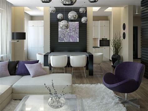 studio living ideas purple white living room diner awesome studio loft