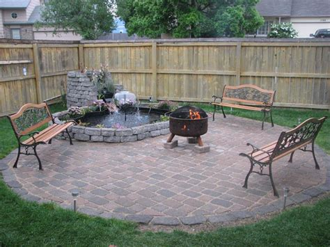 how to build a backyard patio how to make a backyard fire pit landscaping ideas and