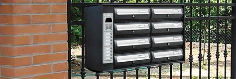 cassette postali con citofono accessori per cassette postali condominiali canelli e