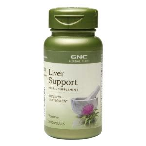 Gnc Detox Supplements by Gnc Herbal Plus Liver Support Capsules Drugstore