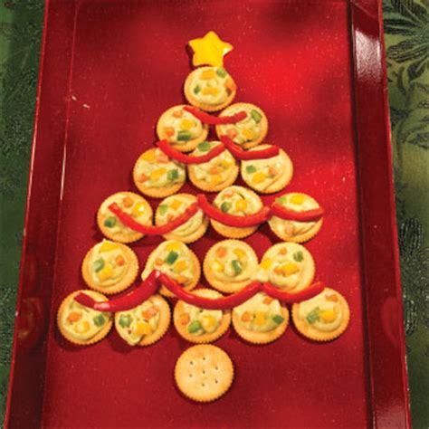 christmas tree cracker tray free christmas recipes