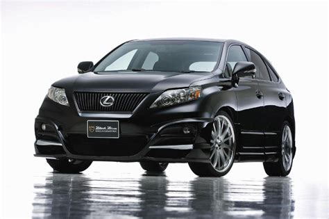 wald lexus lexus rx by wald tuning for hybrids asian cars news