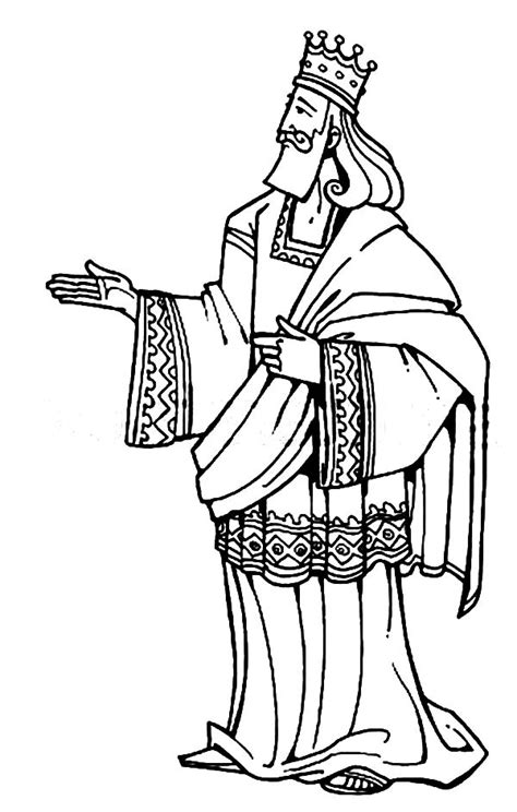 coloring pages king solomon king solomon clipart 73