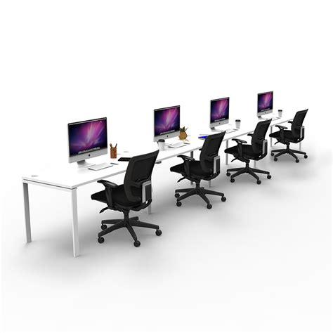 inline office furniture effect profile desk system ikcon