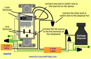 gfci outlet switch wiring diagrams do it yourself help com