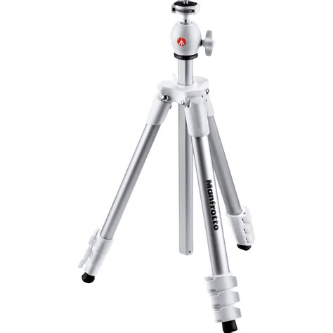 Manfrotto Compact Light manfrotto compact light aluminum tripod white mkcompactlt wh