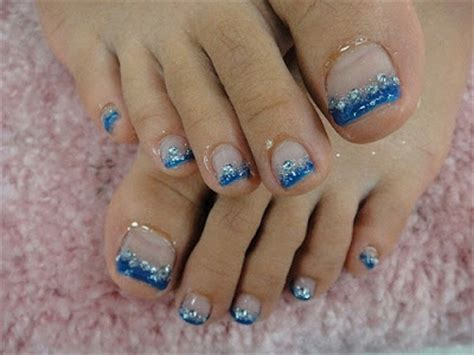 Gel Pedicure by Pink Velvet More Summer Gel Pedicure