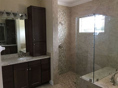 Master Bathroom With Walk In Shower Custom Master Bath With Walk In Shower Rjm Custom Homes