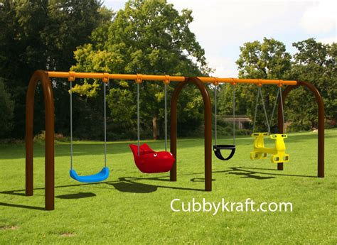 playground swing sets playground swing swing sets cubbykraft swingsets