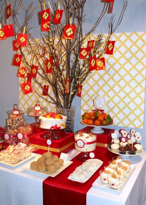 chinese decorations for your friend s new year party the how to make a dessert table backdrop my blog
