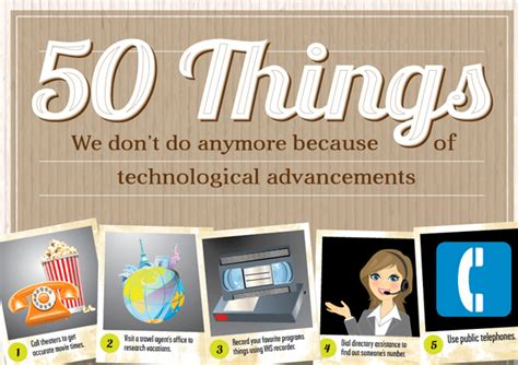 Remember These by Do You Remember These 50 Things Technology Has Replaced