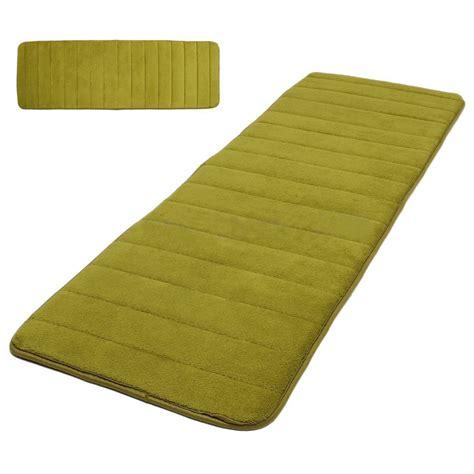 foam rug 120x40cm absorbent nonslip memory foam bedroom door floor mat rug carpet f6 ebay