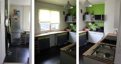 cuisine mur vert pomme
