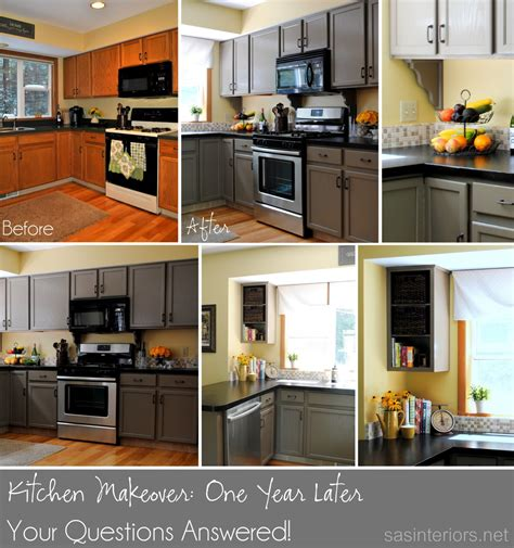Kitchen Make Overs by Kitchen Makeover Update One Year Later Burger