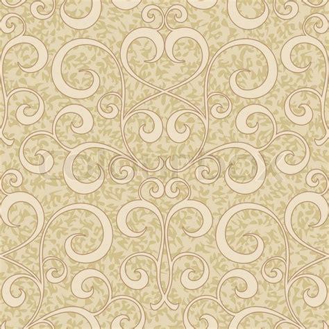 background pattern swirl abstract beige flourish floral swirl seamless background