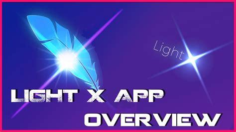 light app light x app overview