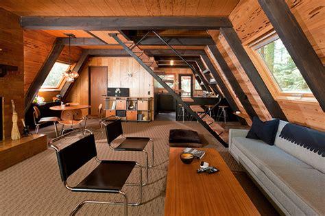 a frame home interiors homewood midcentury living room sacramento by popp