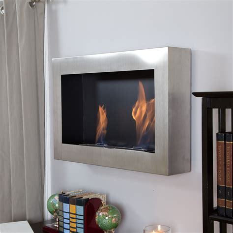anywhere fireplace soho stainless steel indoor fireplace
