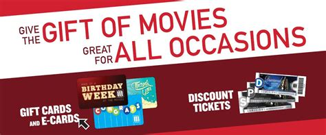 Discount Movie Gift Cards - marcus theatres