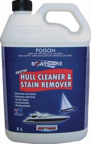 boat hull stain remover catalogue septone boat care drifter hull cleaner