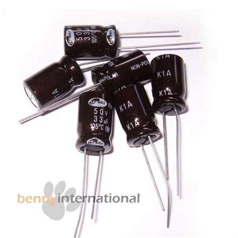 capacitor dnp 20x 33uf 50v 105 176 c capacitors electrolytic non polar high temperature au stock ebay