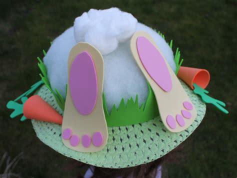easter bonnet ideas bunny s bottom easter bonnet dreaming of a craft room