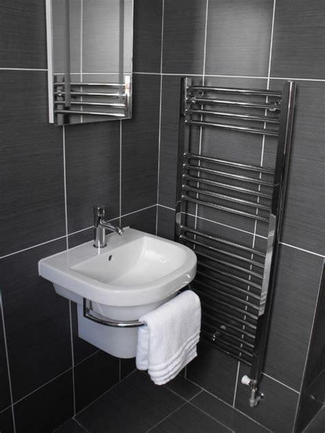 All White Kitchens by Anthracite Tiled Bathroom Modern Bathroom Dublin