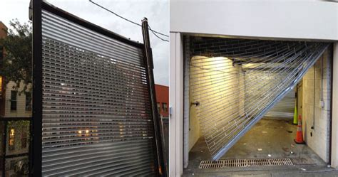 see through garage doors overhead garage door or rolling gate